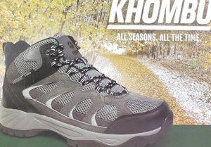 ec7a9ec1a71 Khombu Tyler Leather Hiking Outdoor Tactical Boots NWT